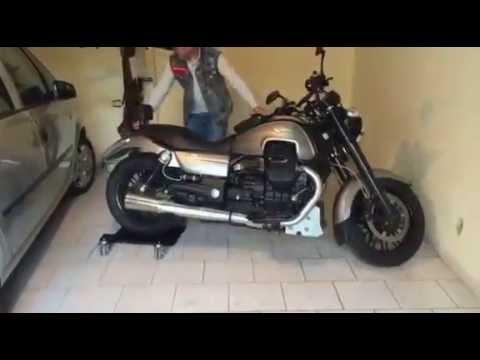 Motomove bl pour moto avec b quille lat rale www for Deplacer sa moto dans un garage