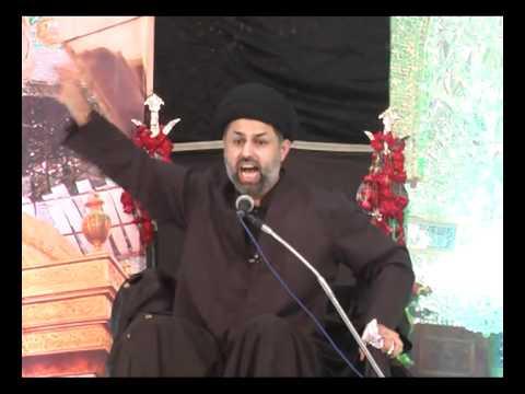 01 - Maulana Abu Talib Tabatabai - Muharram 1433 - Khaliqdina Hall, Karachi