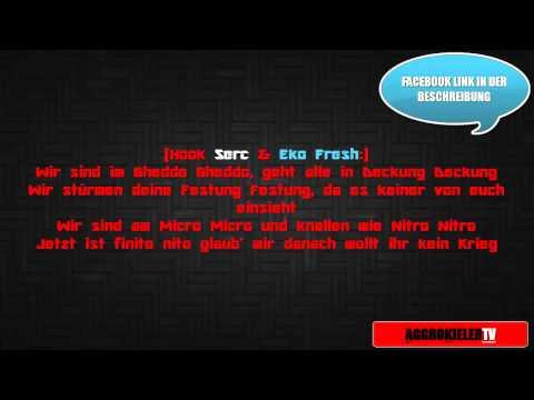 Eko Fresh feat. Serc -  Kein Krieg [LYRICS] |AKTV