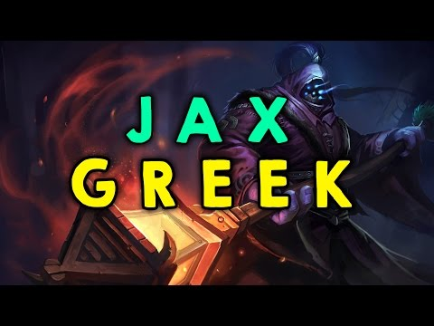 ♥ League of Legends Greek Jax Top [47] w/thanos1969