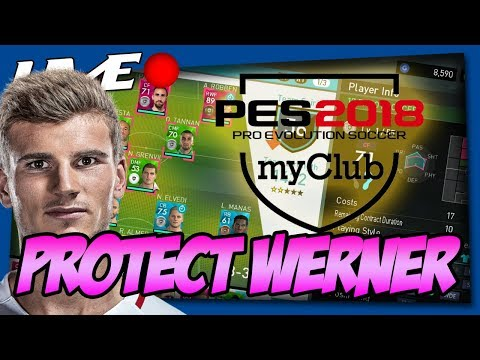 PROTECT THE WERNER! (PES MYCLUB CHILLSESSIE CO-OP)