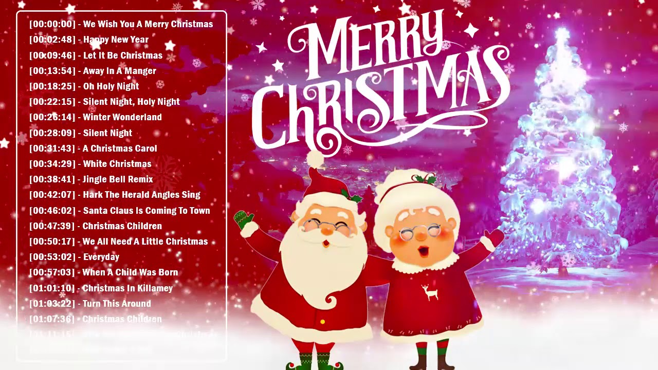 Traditional Old Merry Christmas Songs 2021 Of All Time - Best Old Christmas Songs Playlist