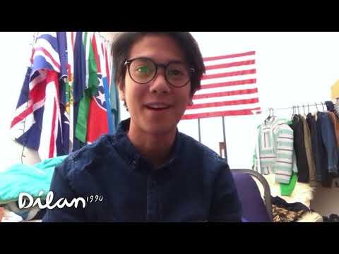 #DiBalikLayar Dilan 1990 | Ucapan Dilan Untuk Milea dan Seluruh Masyarakat Indonesia