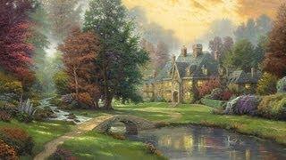 Lakeside Manor by Thomas Kinkade