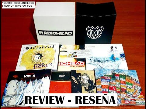 REVIEW - RESEÑA [Edición Limitada] Radiohead - Caja Recopilatoria (Emi - Parlophone - 2007)