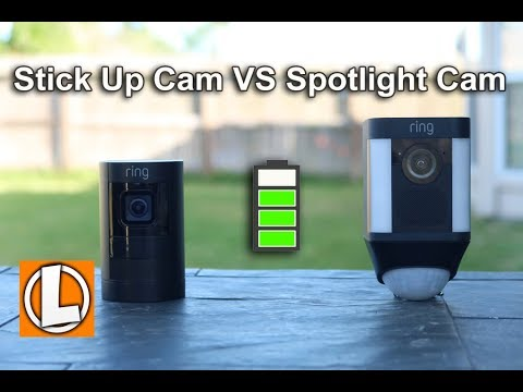 3da4194a6ed2 Ring Stick Up Cam VS Spotlight Cam Battery - Comparison of Price, Features,  Video and Audio Quality