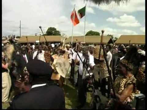 M'mbelwa, Mpezeni, Mwanawasa etc dance Ingoma