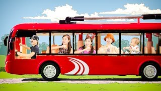 VÒNG TRÒN XE BUÝT QUAY TRÒN | Wheels On The Bus VIETNAMESE version | KIDS MUSIC | Kim Happy Kids