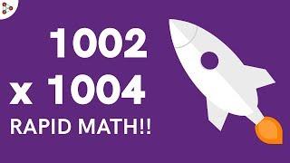 Fast Vedic Mental Math tricks - Multiplication 03