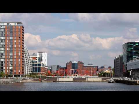 A Walk Around Salford Quays & Media City UK