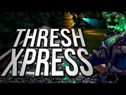All aboard the THRESH-XPRESS!