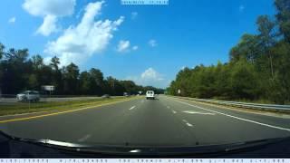 Triangle Transit Unit #5810 Speeding near Apex, North Carolina