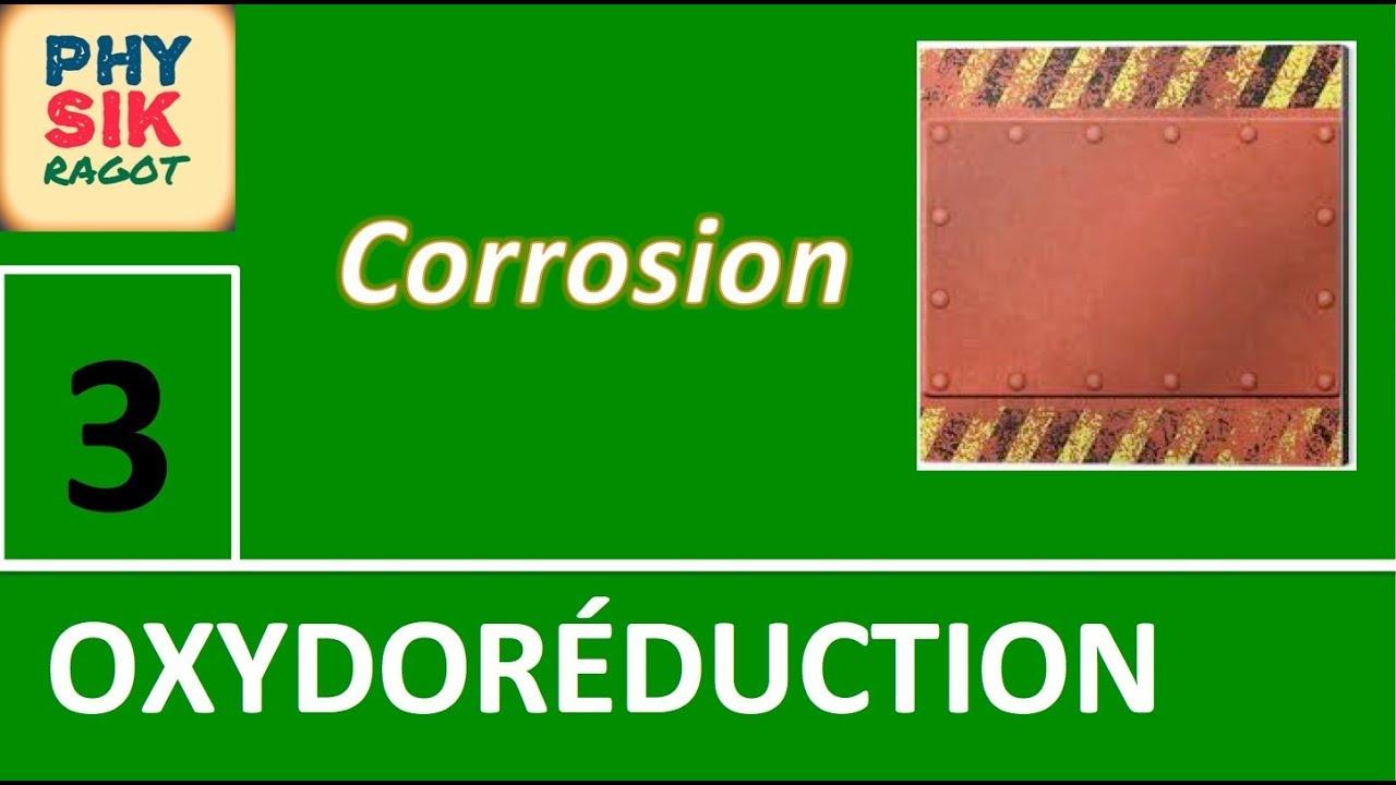 Oxydor duction 3 me partie la corrosion des m taux