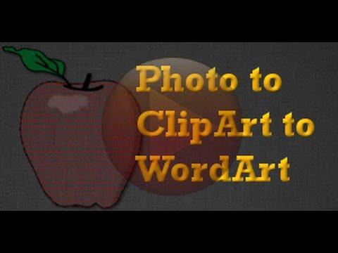 GIMP Project - Clip Art From A Photograph & How To Make Words Into A ClipArt Shape - XDTutorials.com