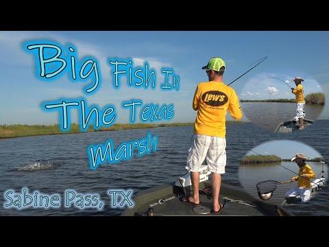 Sabine Pass Marsh Fishing