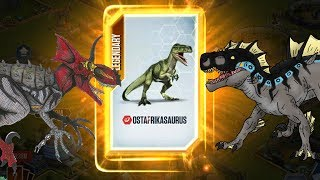 May Mắn Mở Pack Trúng Ngay Legendary | Jurassic World Khủng Long Game Mobile, Android, Ios