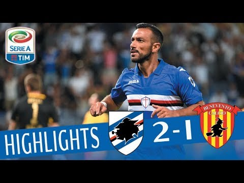Sampdoria - Benevento - 2-1 - Highlights - Giornata 1 - Serie A TIM 2017/18