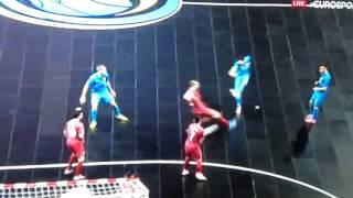 Serbia vs Slovenia (5-1) UEFA Futsal Euro 2016