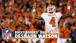 getlinkyoutube.com-Scouting Deshaun Watson (Clemson, QB) - Bucky Brooks' Draft Notebook | NFL Now
