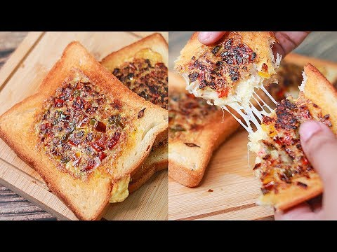 Omelette Sandwich | Quick & Easy Breakfast Recipe | Egg Omelette Sandwich | Toasted