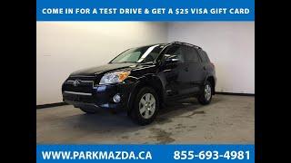 BLACK 2011 Toyota RAV4  Review Sherwood Park Alberta - Park Mazda