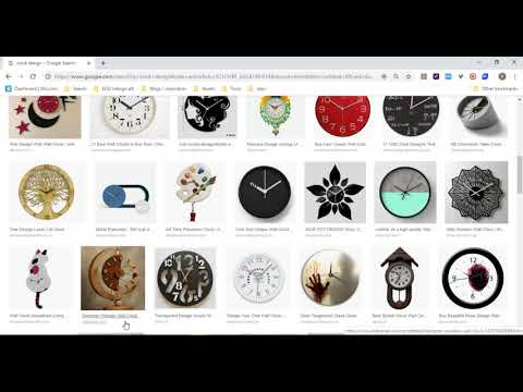 Inkscape Tutorial: Clock Design (part1 / sketch layout) thumbnail