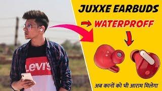 Juxxe JamSports Wireless Earbuds and Bluetooth 5.0, True Wireless Earbuds, Waterproof