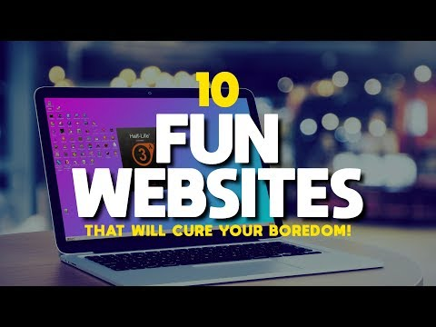 10 Fun Websites That Will Cure Your Boredom!