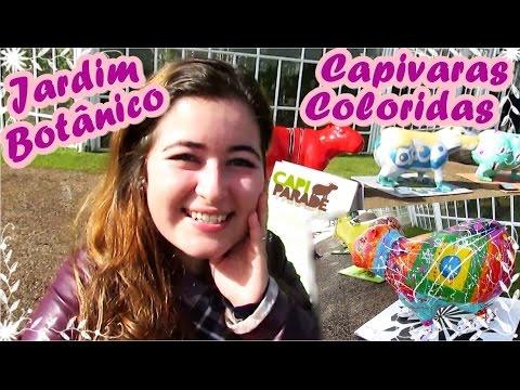 Cathe - Jardim Botânico e Capivaras Coloridas - Curitiba #1