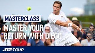 Best Return Tips From Diego Schwartzman   MASTERCLASS   ATP