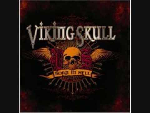 Viking skull-Hidden flame