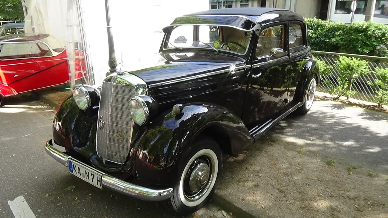 1953 mercedes benz 170 sd oldtimer meeting baden baden. Black Bedroom Furniture Sets. Home Design Ideas