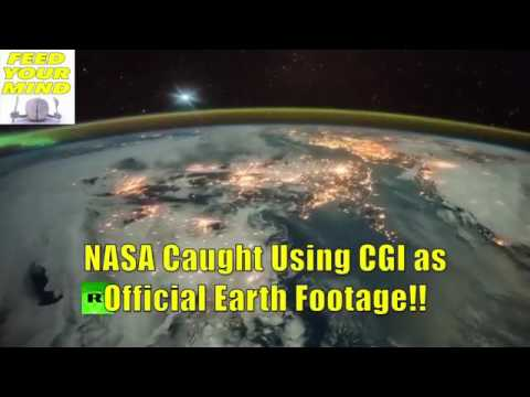 Proof NASA releases CGI images of Earth