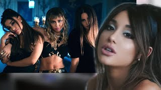 "ARIANA GRANDE, MILEY CYRUS, LANA DEL REY ""DON'T CALL ME ANGEL"" REACTION! BOP OR FLOP?"