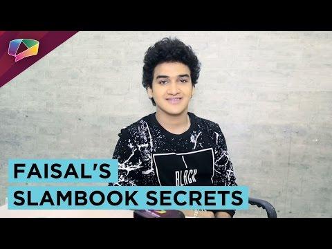 Faisal Khan Reveals His Slam Book Secrets | Exclusive | India Forums