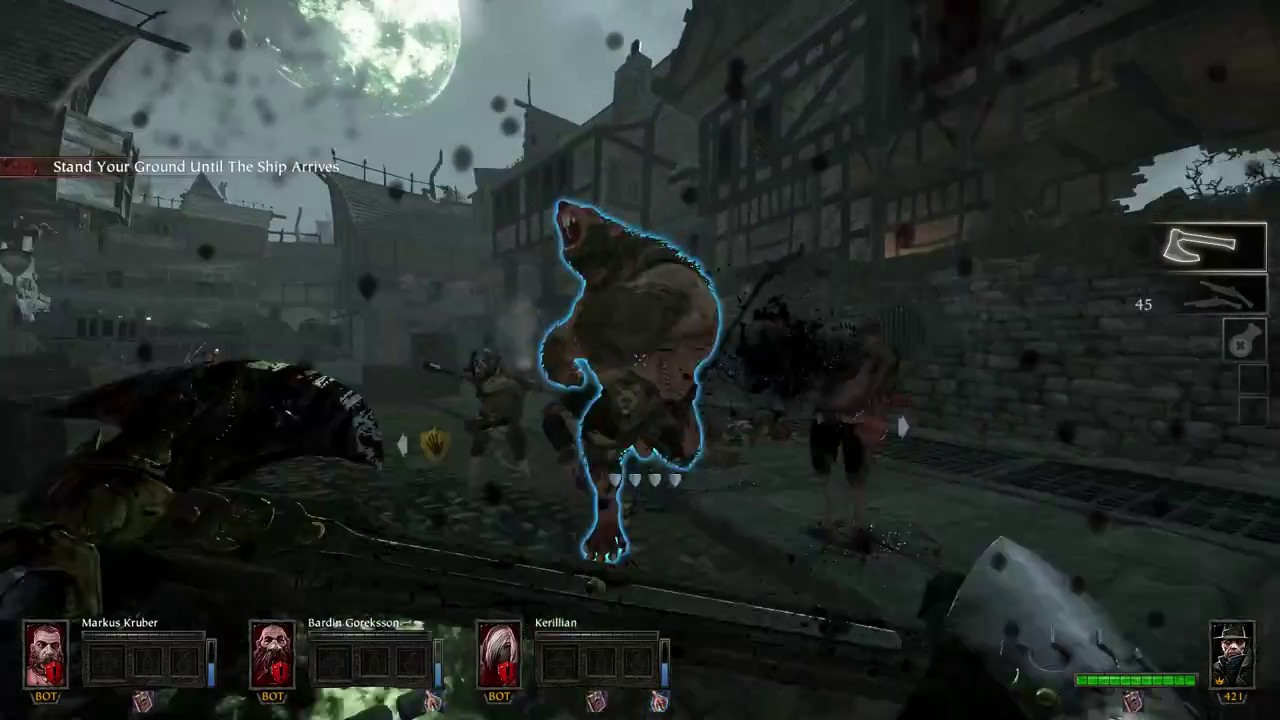 Vermintide Waterfront Saltzpyre True Solo Cata Axe Brace Of
