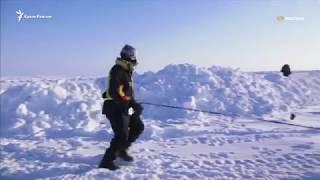 Спортсмены против вечной мерзлоты. Марафонский забег на Северном полюсе