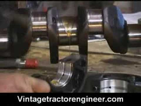 Tractor Engine Rebuild