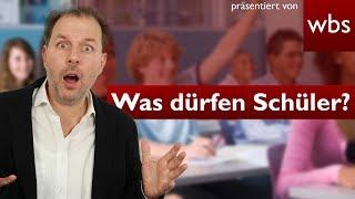 20 Dinge, die Schüler nicht dürfen (aber trotzdem machen)! | Rechtsanwalt Christian Solmecke thumbnail