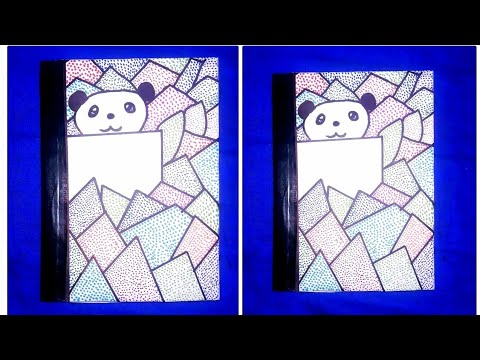 How To Make Notebook Covers At Home Notebook Cover Design Drawing