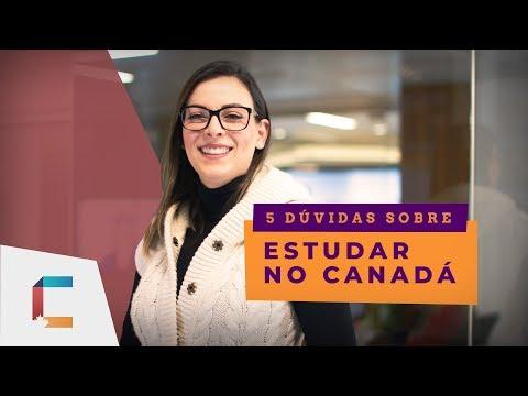 5 DÚVIDAS:  Estudar no Canadá
