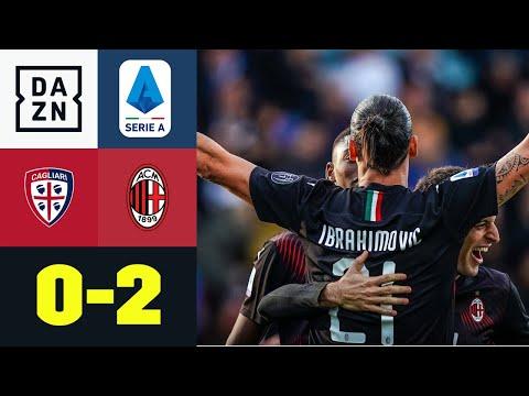 Ibrakadabra zlatanisiert bei Startelf-Comeback : Cagliari - AC Mailand 0:2 | Serie A | DAZN
