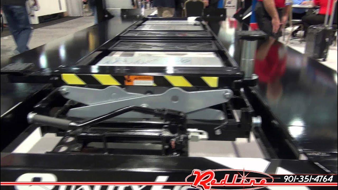 quality automotive 4 post car parking lift youtube