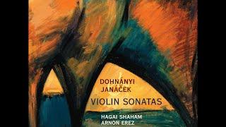 Dohnányi & Janáček—Violin Sonatas—Hagai Shaham (violin), Arnon Erez (piano)