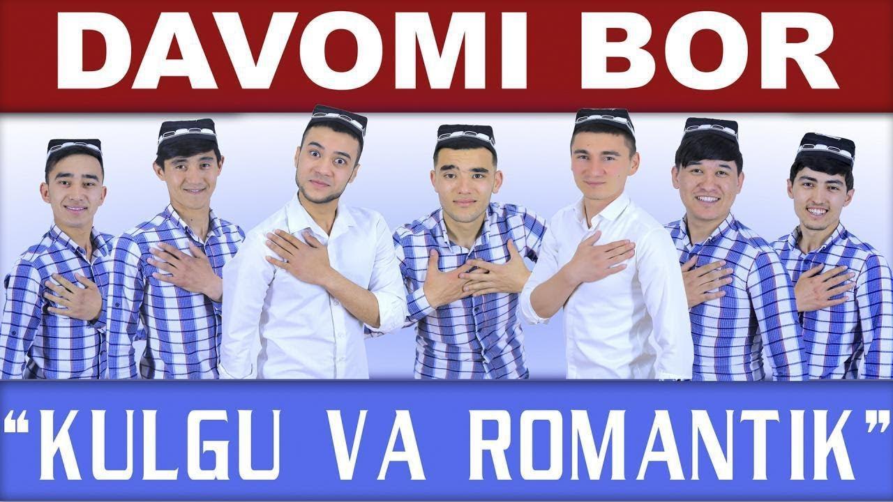 Davomi bor - Kulgu va romantik nomli konsert dasturi 2018