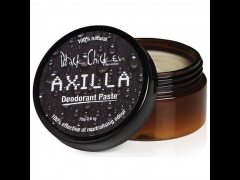 Axilla Deodorant Test. Black Chicken