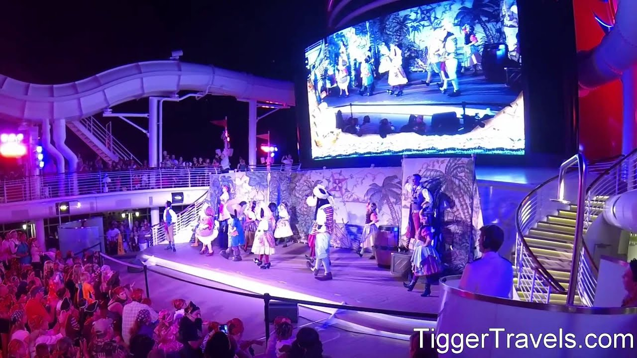 Disney Cruise Line Dream Pirates In The Caribbean Party