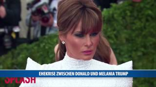 Die Trumps stecken in einer Ehekrise