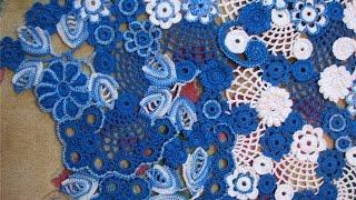 Ирландские Кружева Крючком - видео - 2016 / Irish crochet lace - Video / Irish Häkelspitze(Ирландские Кружева Крючком - видео смотрите на нашем канале. Стильные оригинальные переплетения, которые..., 2016-05-12T15:46:23.000Z)