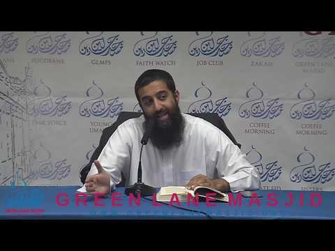 Year with the Prophets: Nuh عليه السلام  Shaykh Aqeel Mahmood